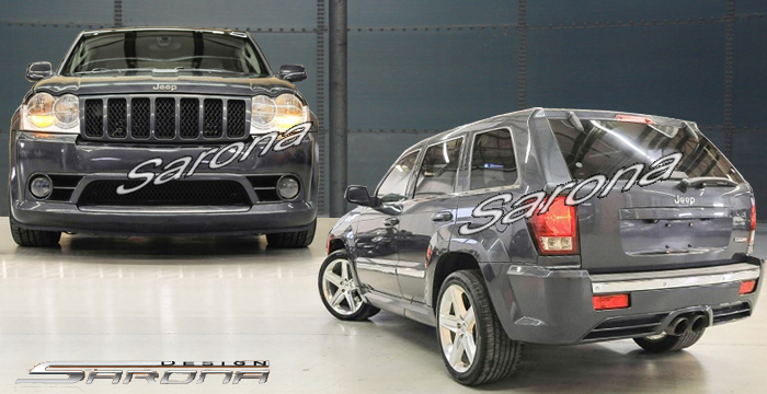 Custom Jeep Grand Cherokee  SUV/SAV/Crossover Body Kit (2005 - 2007) - $1390.00 (Manufacturer Sarona, Part #JP-001-KT)